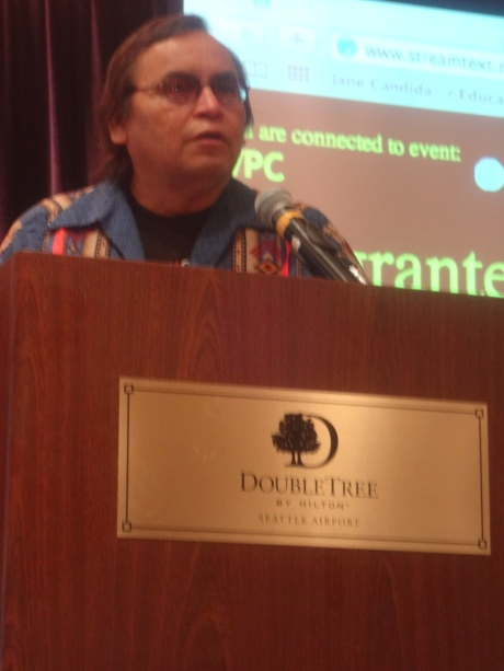 Grand Chief Terrance Nelson Addressing the White Privilege Conference in Seattle April 2013